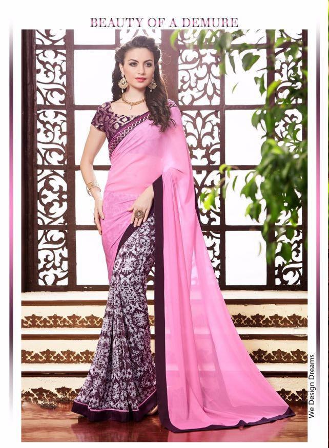Indian Sari Designer Ethnic Dress Bollywood Partywear Pakistani Wedding Saree  #KriyaCreation #DesignerSaree