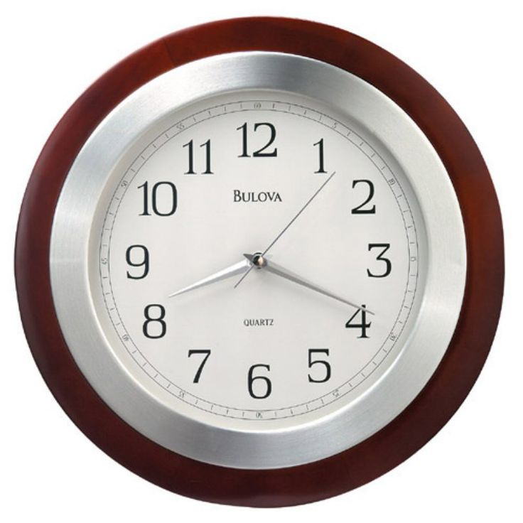 Reedham Wall Clock by Bulova - C4228