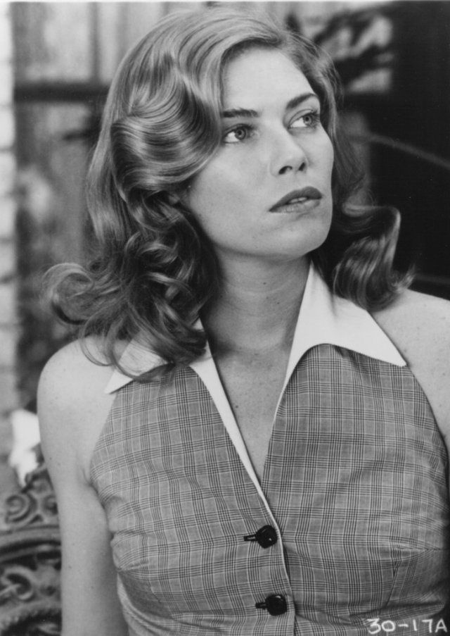 A more groomed and uptight version of Kelly McGillis. Not feeling it as much as a looser, more relaxed look.