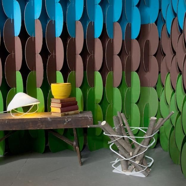 Beautiful Simple Beauty Of DIY Cardboard Decorative Screens And Room Dividers