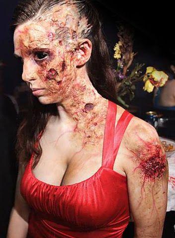 maquillage effets speciaux par AsSeenOnStevie 5   Maquillage effets spéciaux par AsSeenOnStevie   zombie zombi The Walking Dead photo maquil...