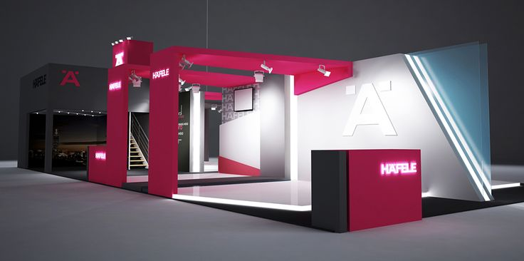 """Exhibition Stand for """"HAfele"""" designed by GM design group #exhibitionstands #exhibition #stand #booth #gmdesigngroup #gmdesign #gm #design"""