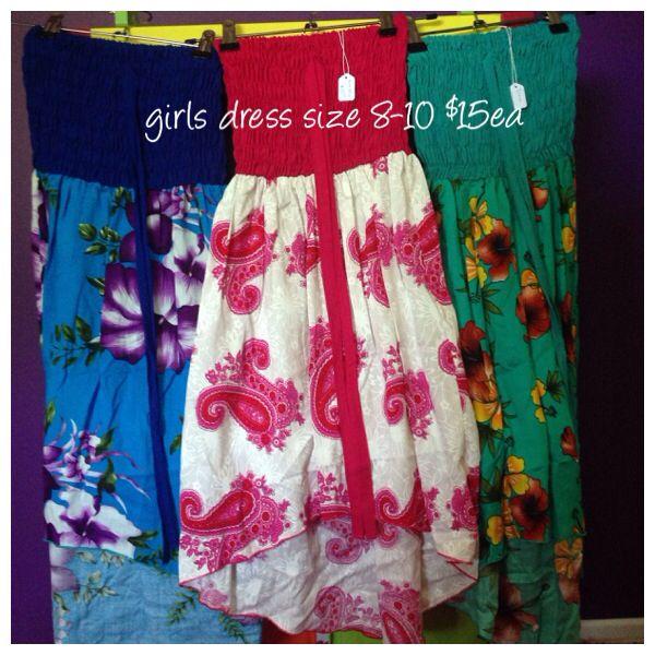 Girls dresses size 8-10
