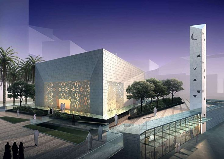8 Modern Mosques That Blend an Ancient Religion with Contemporary Design…