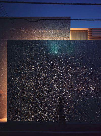 Sakura House / Mont Fuji Architects/ Dentelle de béton