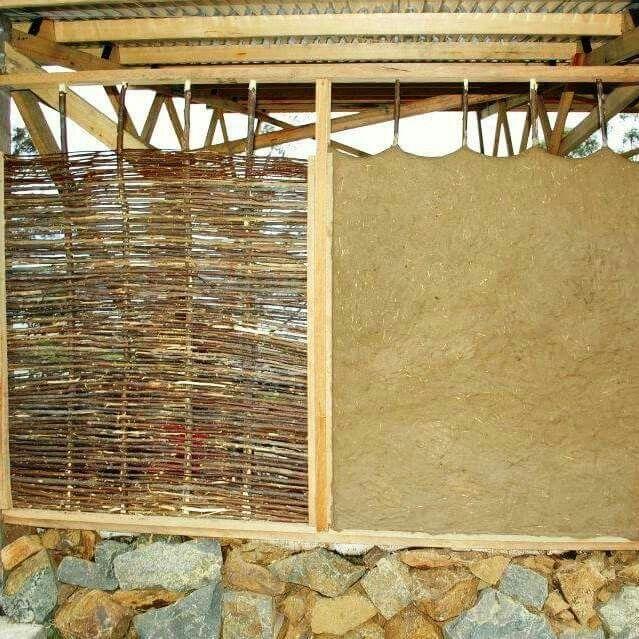 Wattle and daub walls                                                       …