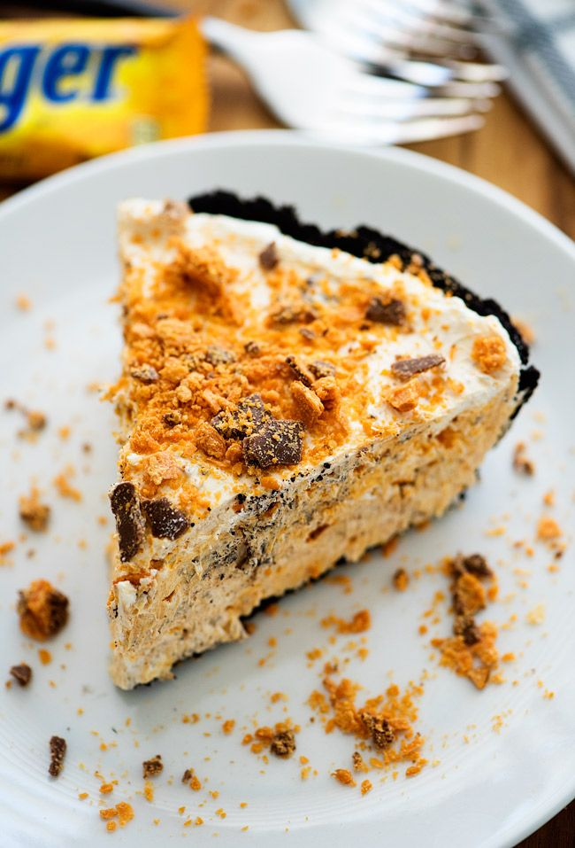 Butterfinger Pie - Life In The Lofthouse