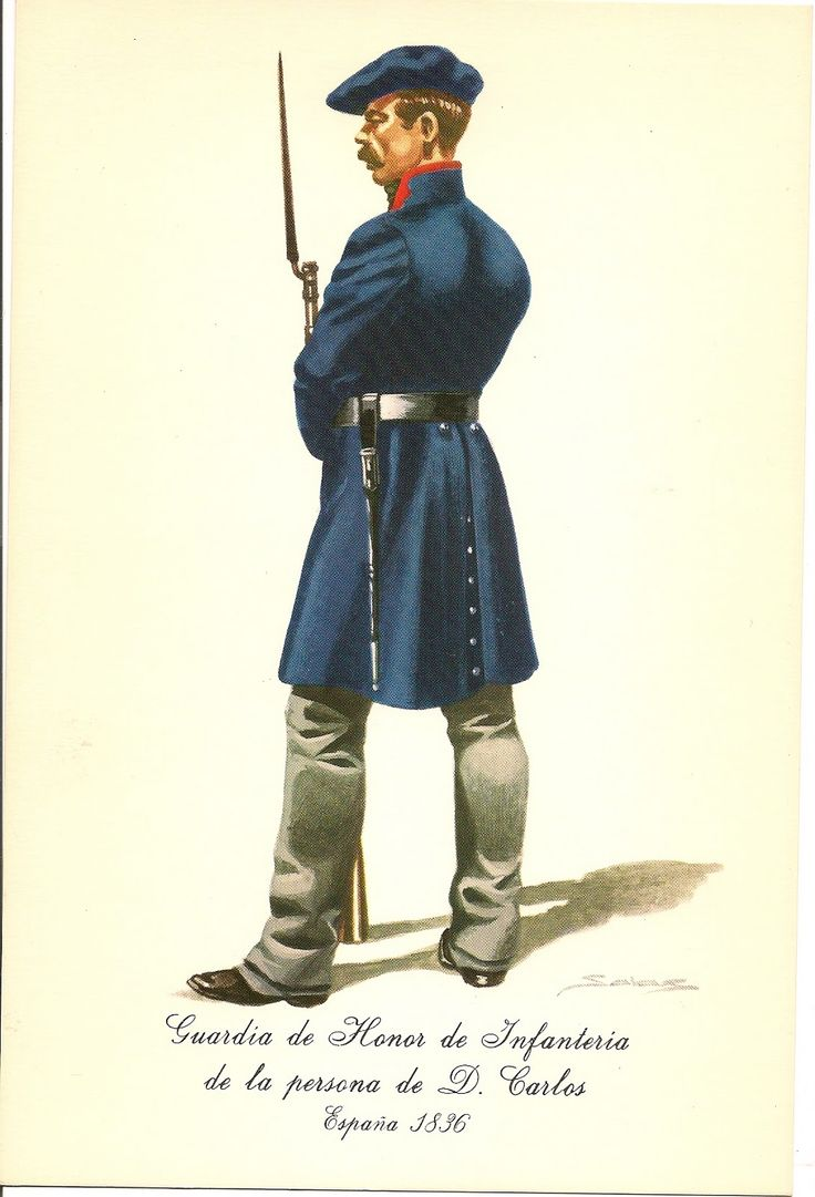 Spain; Carlists; Infantry Guard of Honour of Don Carlos, 1836