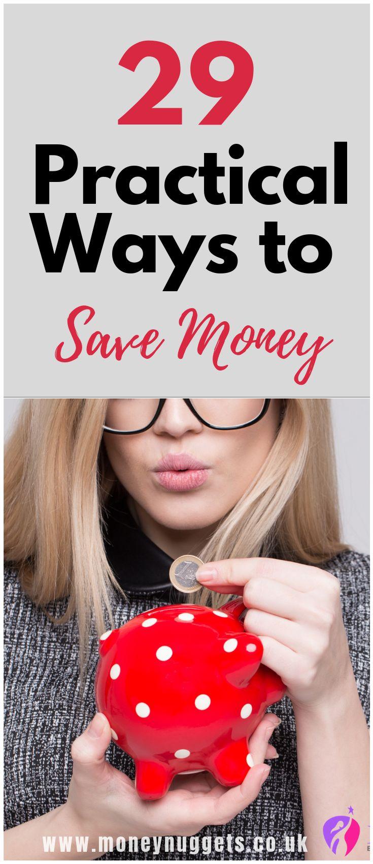 Suchen Sie nach Möglichkeiten, um Geld zu sparen? Sehen Sie sich diese 29 einfachen Möglichkeiten an, um Geld zu sparen …   – Saving Money Tips