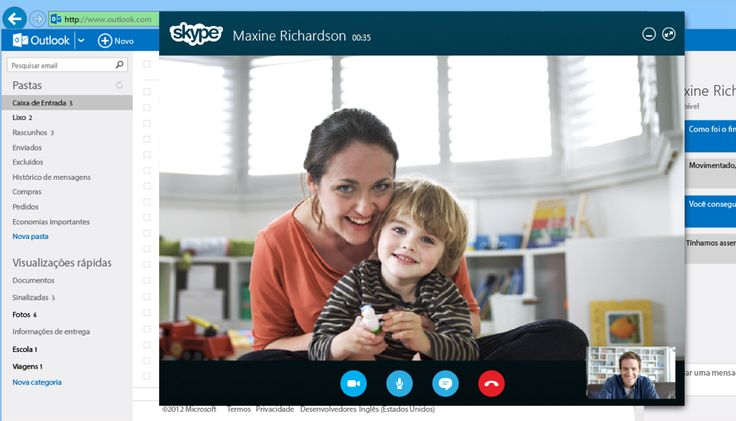 O Skype para Outlook.com, concorrente da Microsoft para o Hangouts do Gmail, agora está disponível para todos os usuários do Brasil. Desde abril em uma versão preview, o recurso com chamadas de vídeo diretamente da caixa de correio eletrônico a