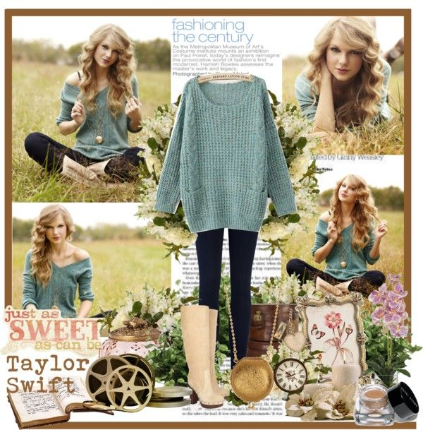 """Celebrities Outfit "" beauty of Taylor Swift """" by siska-w  liked on Polyvore Cl"