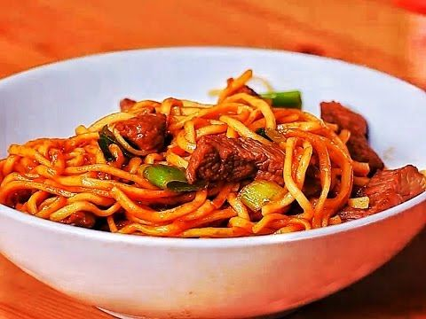 Easy Beef And Garlic Noodles - YouTube