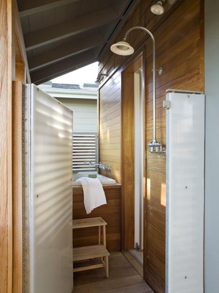 162 best portable outdoor showers images on pinterest for Outdoor shower doors