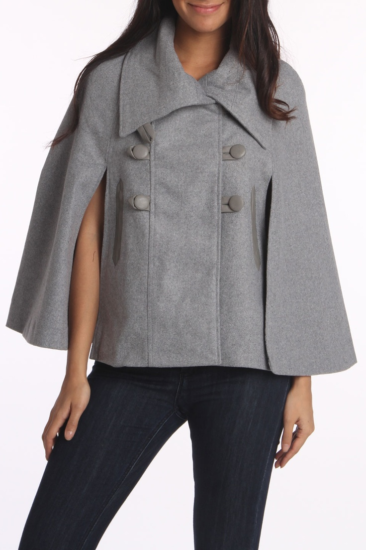 I swear to God, I bought this exact poncho from Burlington Coat Factory for $25 during Black Friday! :)