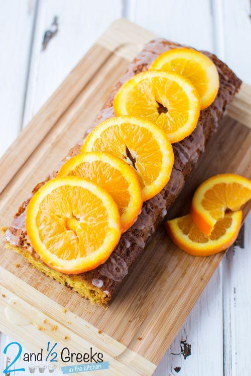 Νηστίσιμο κέικ πορτοκάλι - Craftaholic
