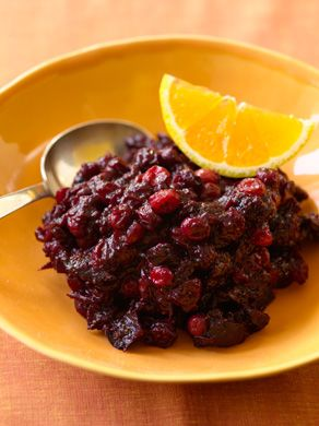Cranberry, Fig, and Pinot Noir Chutney | Recipe