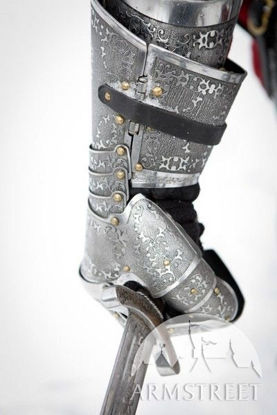 Medieval Paladin knight functional SCA armor gauntlets for sale :: by medieval store ArmStreet