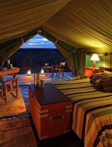 Entim Mara C& - Maasai Mara Kenya. Best tent Iu0027ve ever slept & 28 best Luxury Tents images on Pinterest | Luxury tents Luxury ...