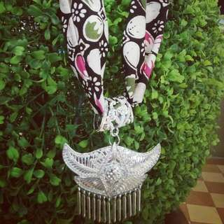 Kalung Batik Handmade