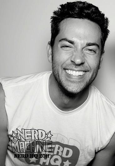 Zachary Levi... Love this picture.