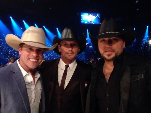 Dustin Lynch,  Tim McGraw, Jason Aldean