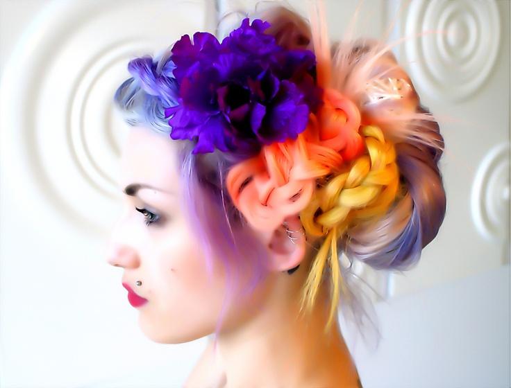 Stylish Creative Hair Up