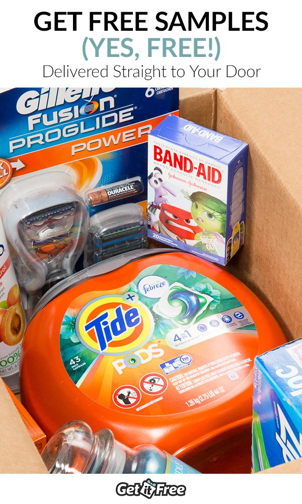 Our warehouse is FULL! These FREE Tide samples must go! Once they're gone, they're gone! Sign up today to start getting your freebies.