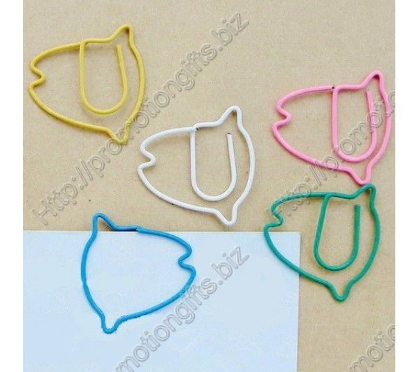 Tropic Fish Shaped Paper Clips-Creative Gifts