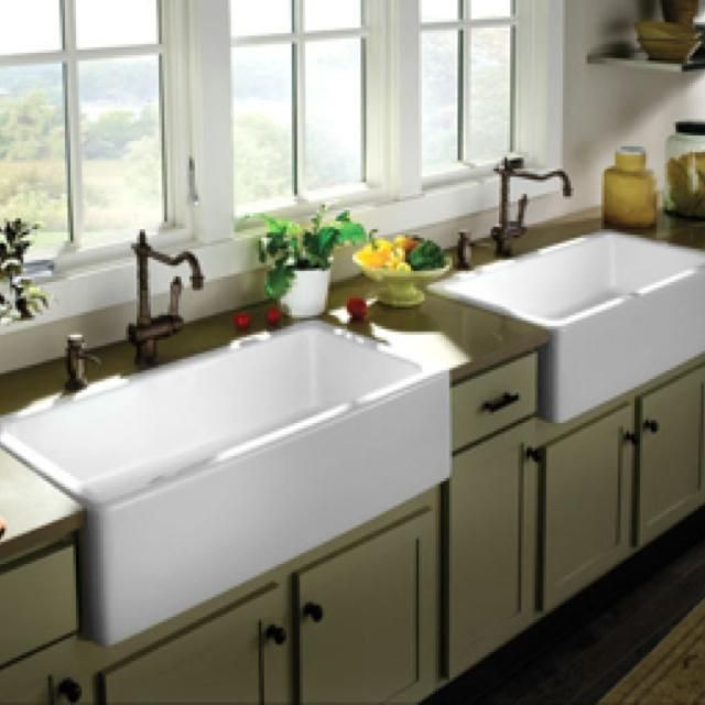 17 best ideas about farm sink on pinterest farm sink kitchen apron sink and cottage kitchens. Black Bedroom Furniture Sets. Home Design Ideas