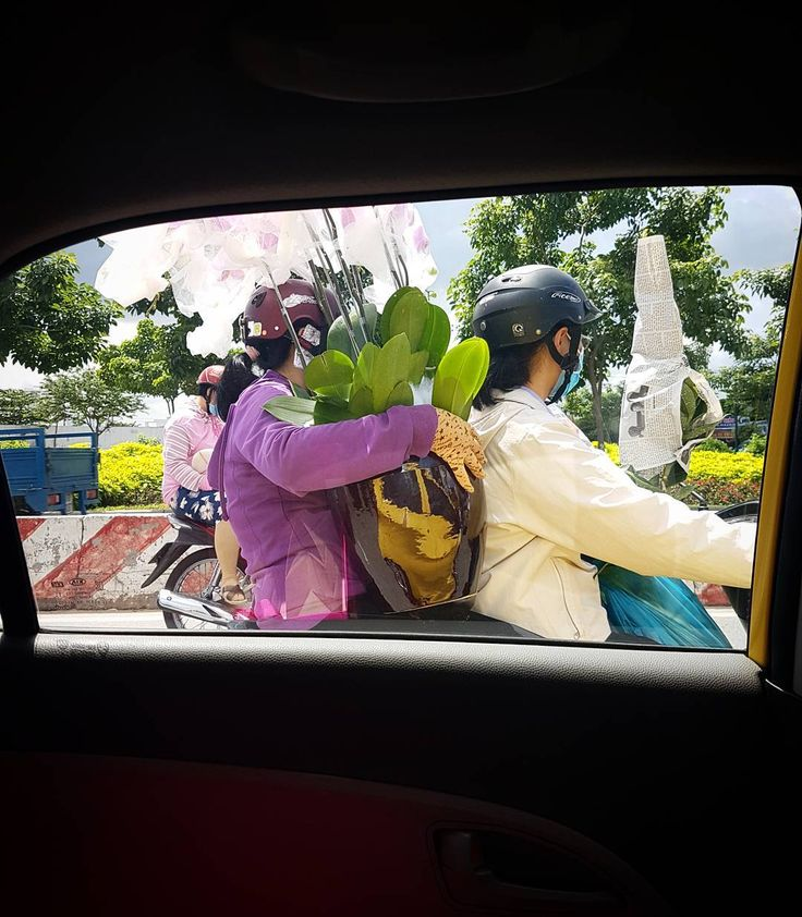 Car window capture of orchid delivery. Using my Galaxy s7 for quick snapshots and Instagram stories however I'll be sharing a new series of other captures soon because nothing gives me greater pleasure than hitting the streets of Saigon to discover new alleys talk to new people and try new foods..and to share it all with you!  #saigon #vietnam #somewhereinsaigon #somewhereinsaigonstories #vietnamese #saigonese #carwindow #orchids #newview #galaxys7