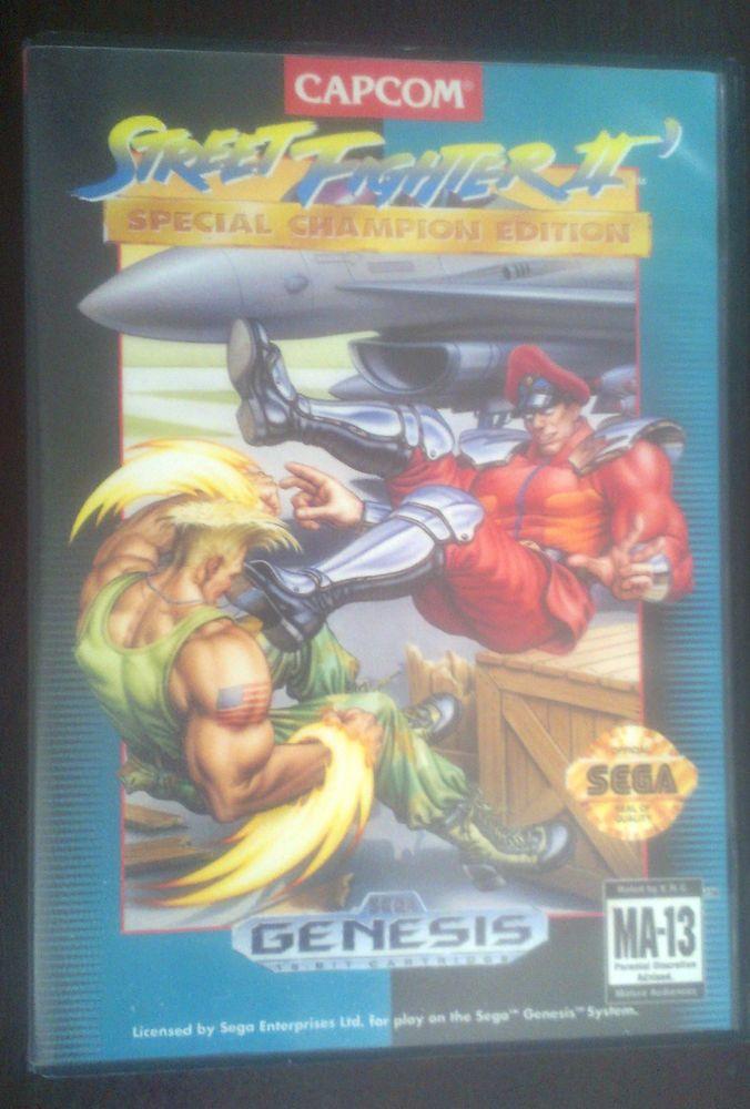 Street Fighter II: Special Champion Edition (Sega Genesis, 1993) - FREE S&H -