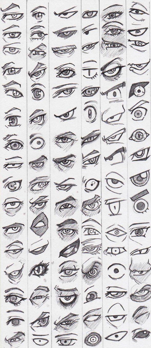 Lernen Sie, Augen zu zeichnen   – reference pictures – #AUGEN #lernen #pictures …