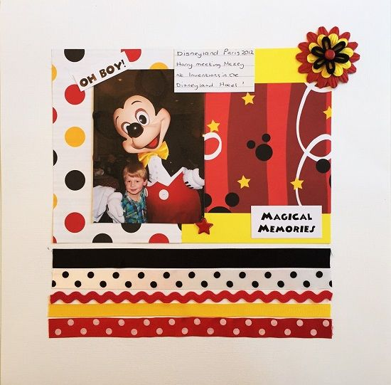 MAGICAL MEMORIES MINI KIT - AUTOGRAPH BOOK MINI ALBUM DISNEY SCRAPOOKING | Scrapping The Magic