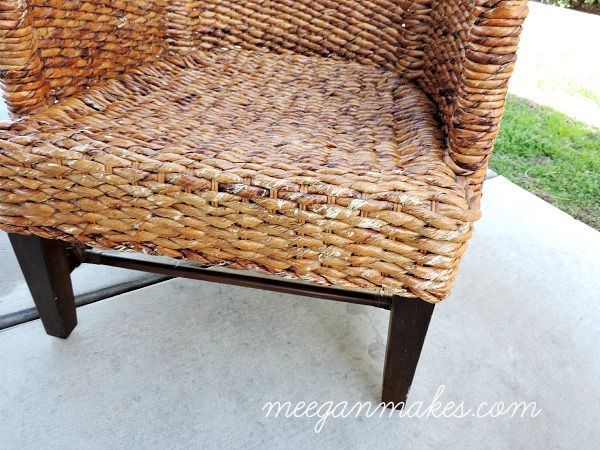 How To Repair a Rattan Chair #RattanChair