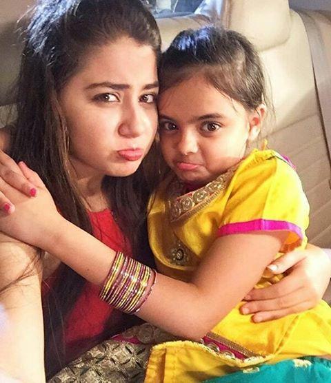 Little Ruhi and grown up Ruhi ♥ Actually Ruhaan and Pihu   @aditi_bhatia4 @dollydhawan