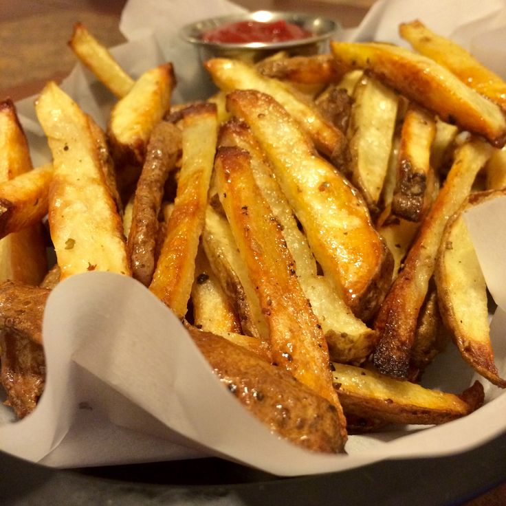 With a crispy outside, and soft-fluffy inside, these Crispy French Fries are oven-baked, and not fried – so you can feel good about eating them! French Fries are my favorite food. As a kid, …