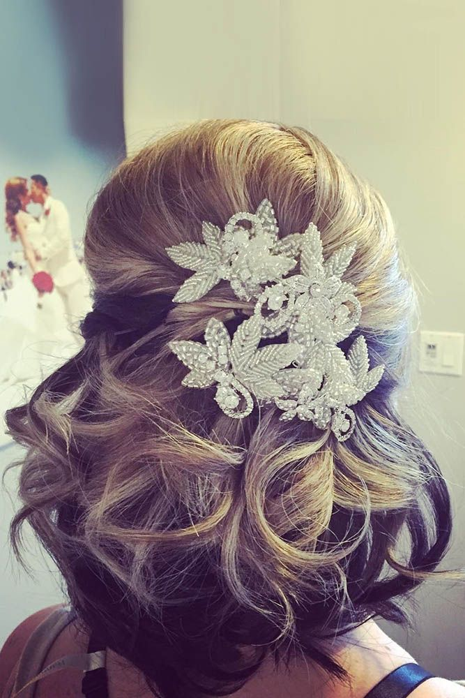 30 Hottest Bridesmaids Hairstyles For Short & Long Hair ❤ See more: http://www.weddingforward.com/hottest-bridesmaids-hairstyles-ideas/ #weddings #hairstyles