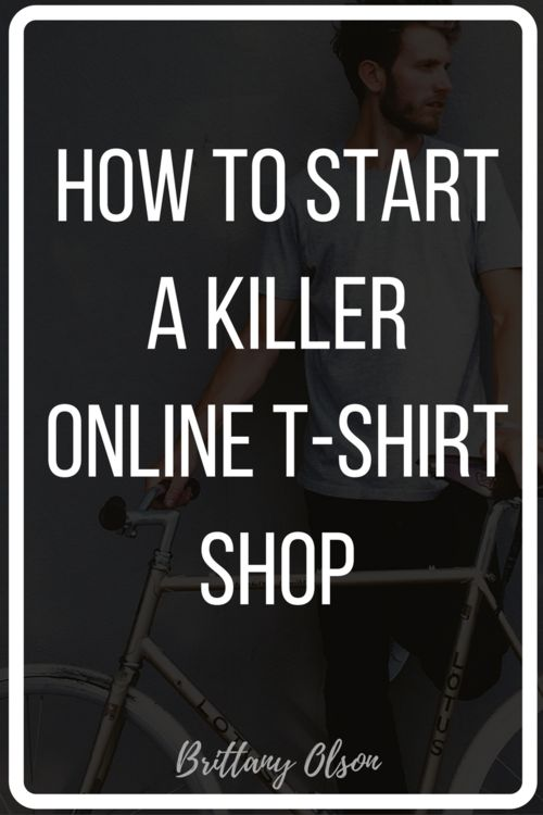 1000 ideas about making shirts on pinterest how to tie for How to start t shirt printing business