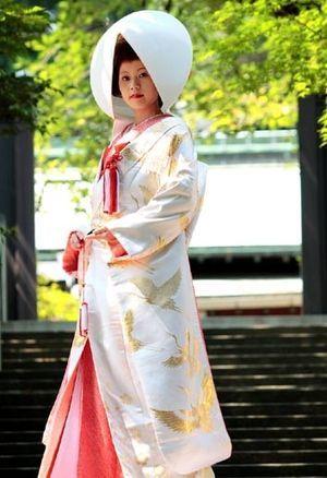 <3 Bridal kimono
