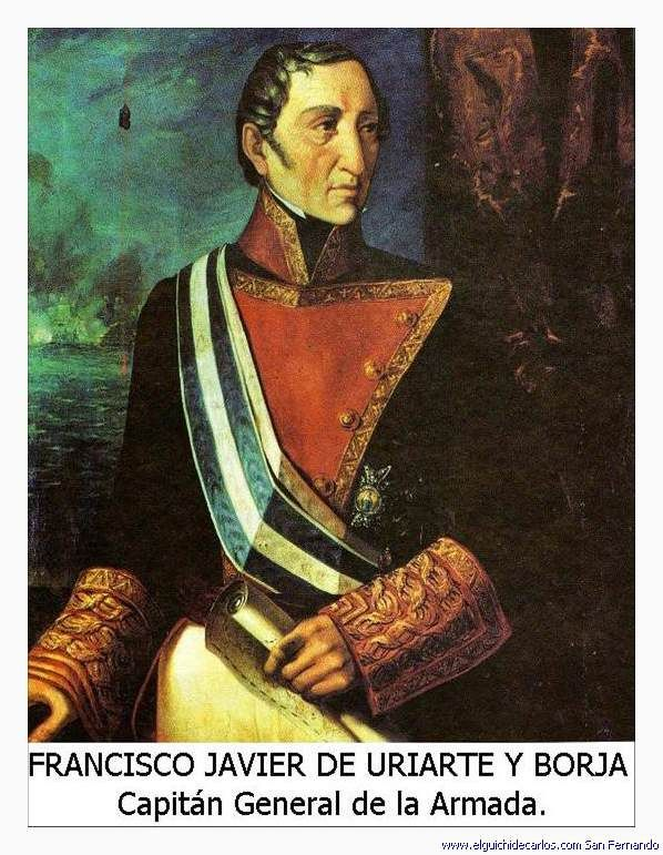 001 18º Capitán General de la Armada Española. Francisco