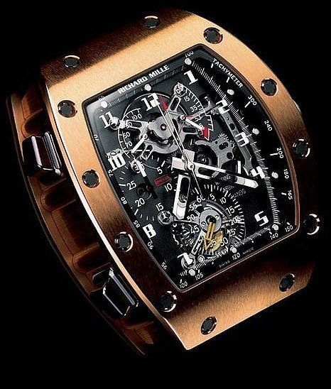 RM008 #Tourbillon Sprit #Chronograph, (sold-out and discontinued), Richard Mille #watch.