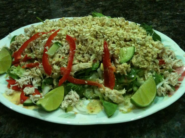 Recipe Shredded Chicken Salad by Sue Hansen - Recipe of category Main dishes - meat