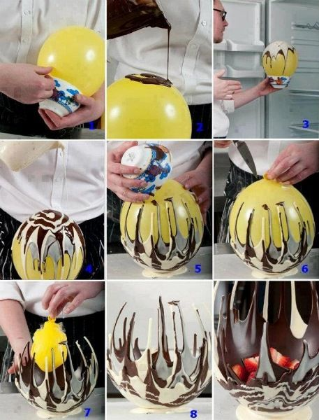 DIY Chocolate Bowl - Find Fun Art Projects to Do at Home and Arts and Crafts Ideas