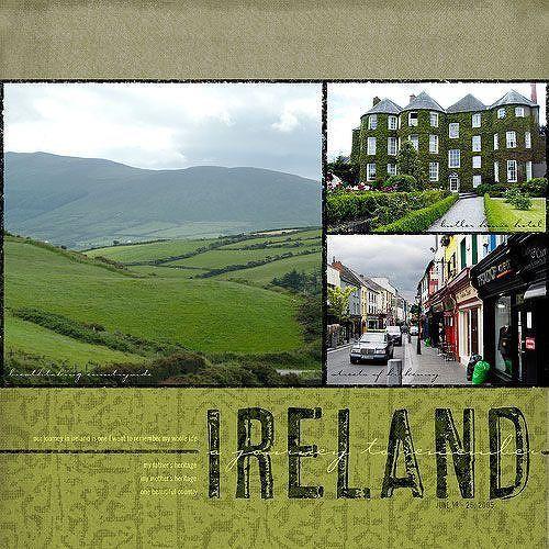 Ireland  - Two Peas in a Bucket