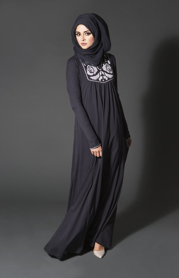Innovative Cuts Chiffon And Silk Stuff abaya (4)