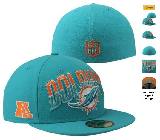 NFL Draft 59FIFTY Fitted Miami Dolphins Hats 6979|only US$8.90
