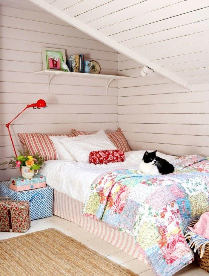 Möbel Für Dachschräge Wandregale Sorgen Für Stauraum