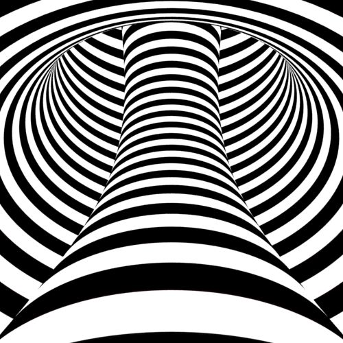 Another one which makes other objects look distorted after you look at it for ~20 secs!