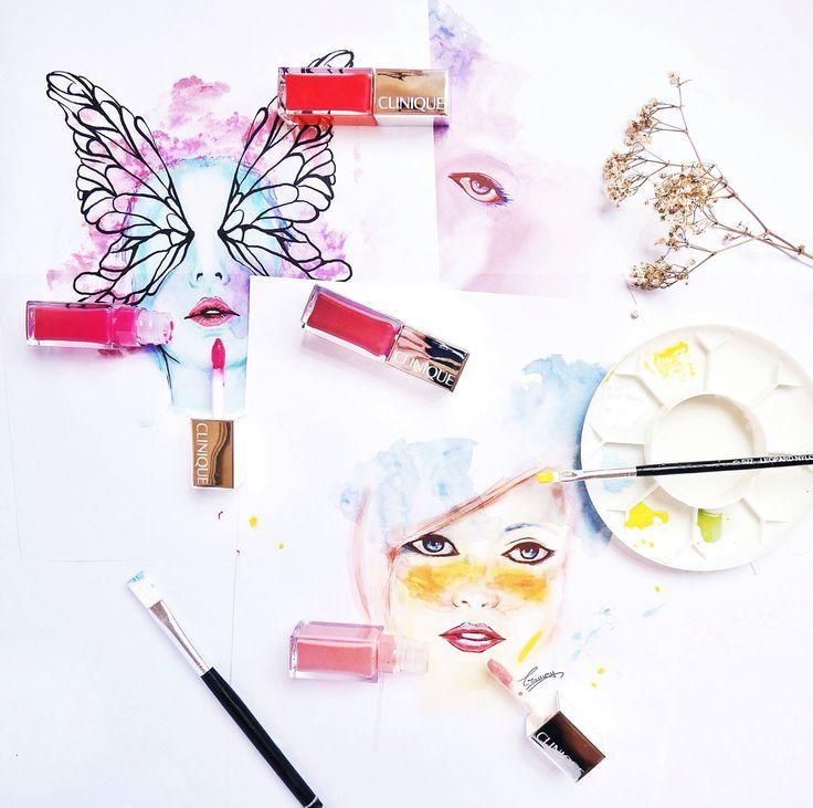 Clinique's new Pop Lacquer Lip Colour + Primer.