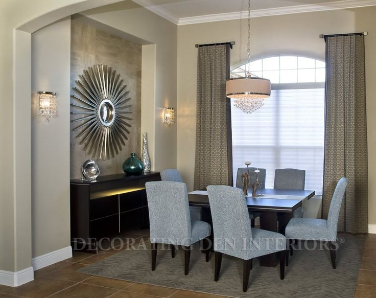 How To Decorate A Recessed Interior Design With Textured Wall Niche In Your  Dining Room How To Decorate A Recessed Interior Design With Text.
